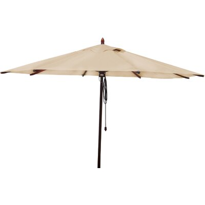 11 Market Umbrella Fabric: Beige