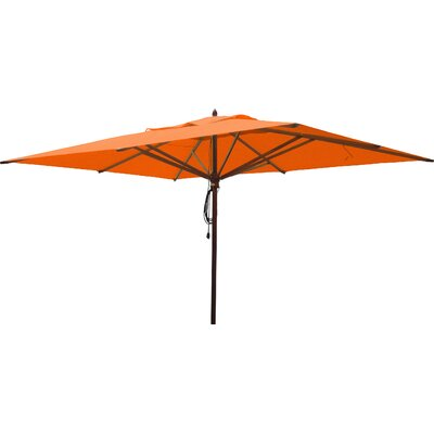 10 x 13 Rectangular Market Umbrella Fabric: Orange