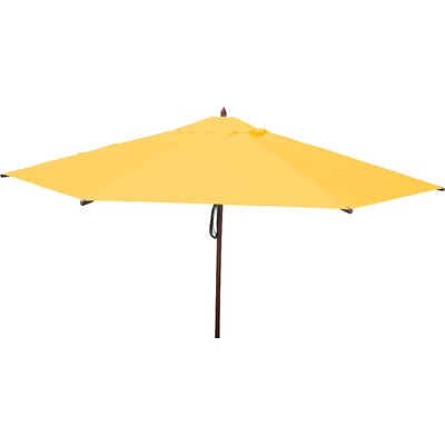 13 Market Umbrella Fabric: Sunflower Yellow