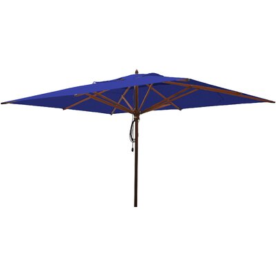 10 x 13 Rectangular Market Umbrella Fabric: Ocean Blue