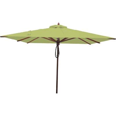 8 Square Market Umbrella Fabric: Lime Green