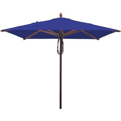 6.5 Square Market Umbrella Fabric: Ocean Blue