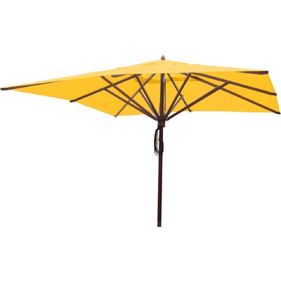 10 Square Market Umbrella Fabric: Sunflower Yellow