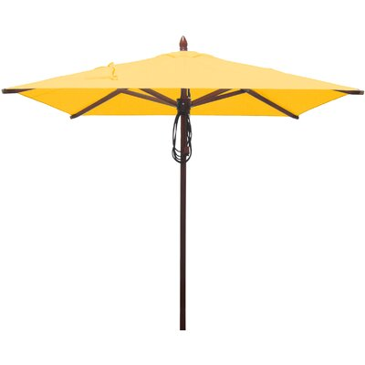 6.5 Square Market Umbrella Fabric: Sunflower Yellow