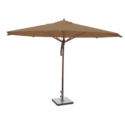 13 Samuel Mahogany Market Umbrella Fabric: Beige
