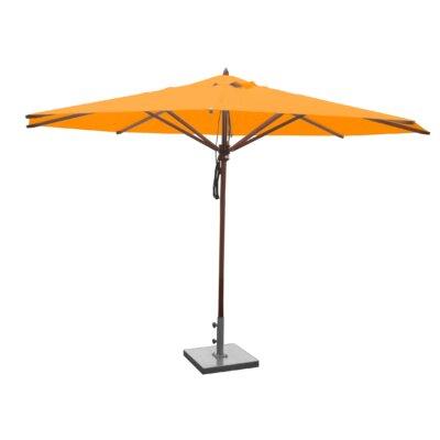 13 Samuel Mahogany Market Umbrella Fabric: Yellow