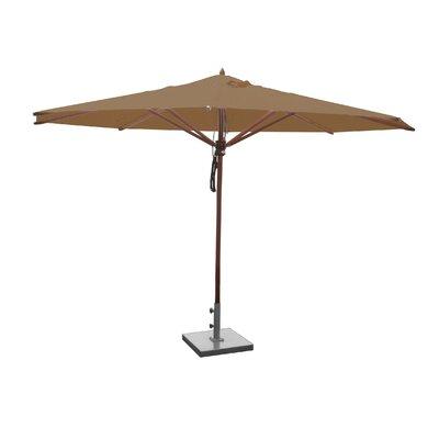 Greencorner 13' Market Umbrella Fabric: Beige
