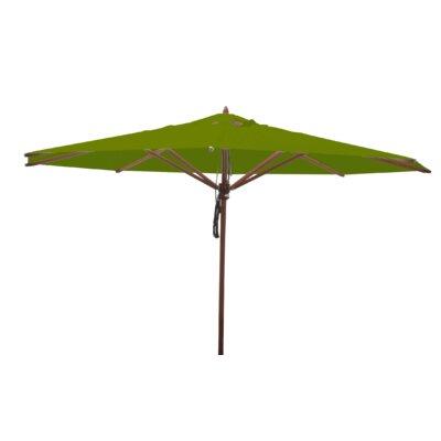 13 Samuel Mahogany Market Umbrella Fabric: Olive Green
