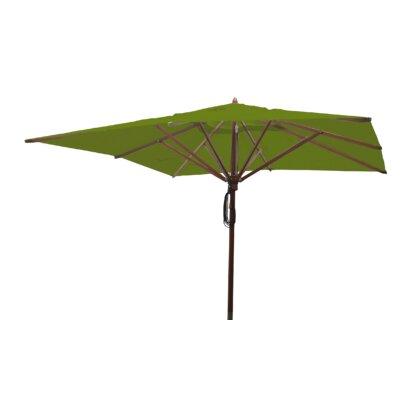Sabanc 10 Simon Mahogany Square Market Umbrella Fabric: Olive Green