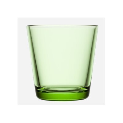 Kartio 7 oz. Glass Color: Apple Green 1008620