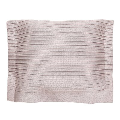 Throw Pillow Cover Color: Pink