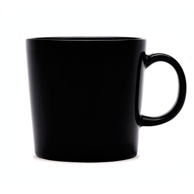 Teema 10 Oz. Mug Black