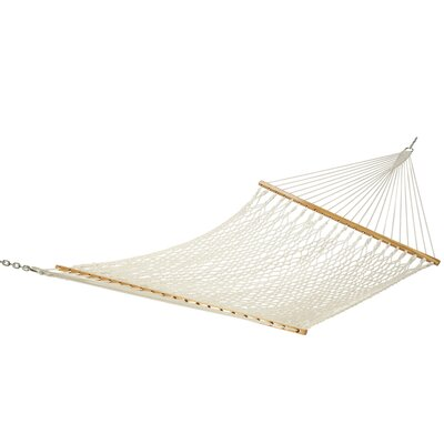Rope Polyester Tree Hammock Size: Single