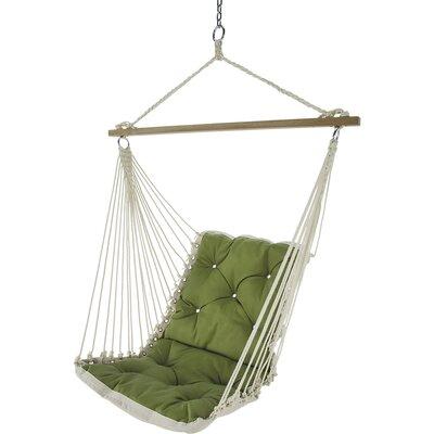 Tufted Single Sunbrella Chair Hammock Color: Canvas Turf