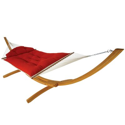 Sunbrella Hammock Color: Canvas Jockey Red