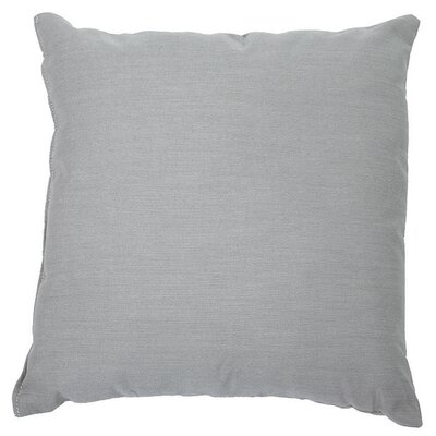 Sunbrella Throw Pillow Color: Spectrum Dove