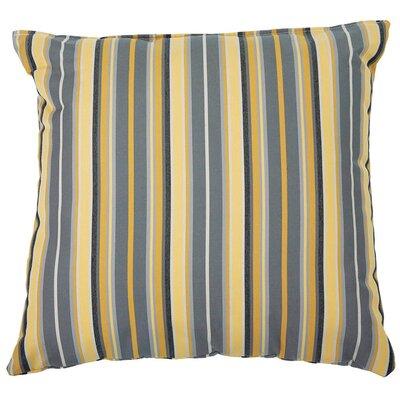 Sunbrella Throw Pillow Color: Foster Metallic