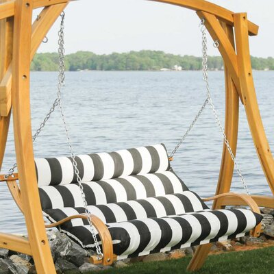 Fletcher Porch Swing with Cushion