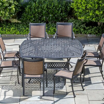 Pilot 9 Piece Square Dining Set