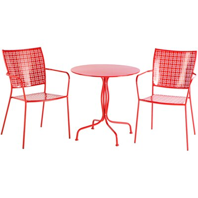 Martini 3 Piece Bistro Set