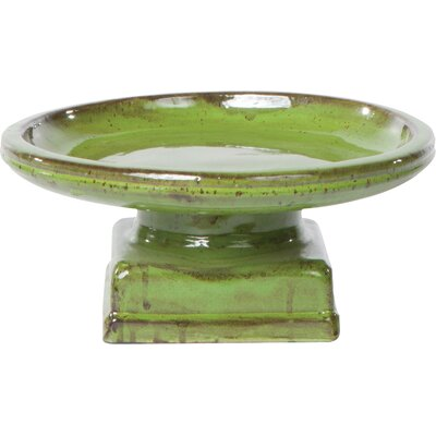 Piatto Birdbath Color: Island Green