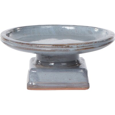 Piatto Birdbath Color: Cielo Blue