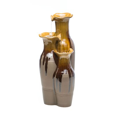 Image of Ceramic Esta Jars Fountain