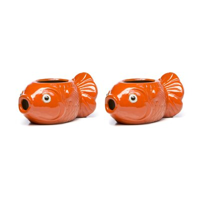 Ceramic Fishy Statue