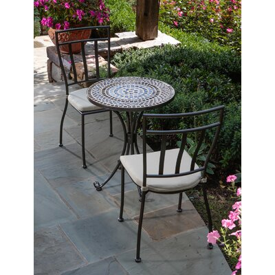Tremiti 3 Piece Mosaic Bistro Set
