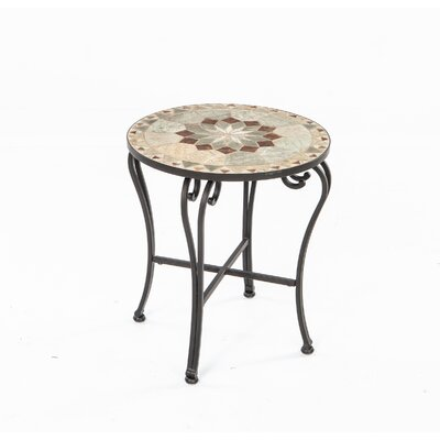 Notre Dame Mosaic Side Table