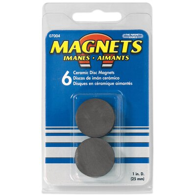 Master Magnetics Ceramic Disc Magnets (Pack of 6) at Sears.com