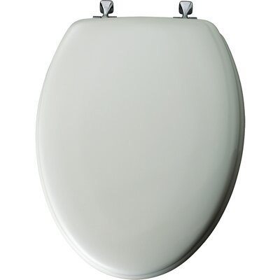Enameled Wood Elongated Toilet Seat