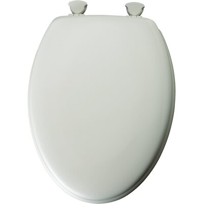 Traditional Wood Elongated Toilet Seat