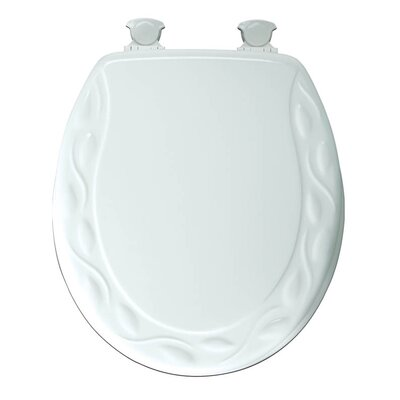 Sculptured Ivy Lift-Off Toilet Seat