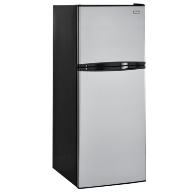 11.5 cu. ft. Top Freezer Refrigerator with Spill Proof Shelves Color: Stainless HA12TG21SS