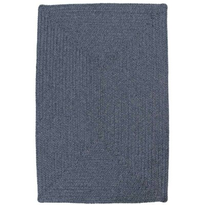 Azure Heather Blue Indoor/Outdoor Rug Rug Size: Oval 23 x 39