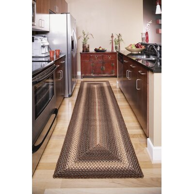 Ultra-Durable Driftwood Indoor/Outdoor Rug Rug Size: Runner 2'6