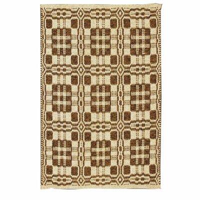 Maverick Brown/Beige Indoor/Outdoor Area Rug Rug Size: 4 x 6