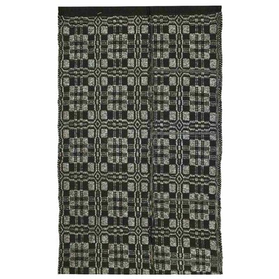 Thistle Black/Light Grey Indoor/Outdoor Area Rug Rug Size: 4 x 6