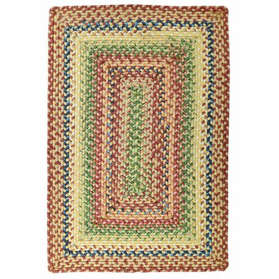 Ultra-Durable Venetian Glass Indoor/Outdoor Area Rug Rug Size: 23 x 4