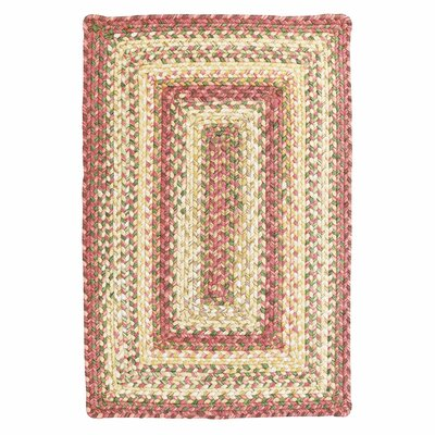 Barcelona Gold Cream Indoor/Outdoor Rug Rug Size: 18 x 26