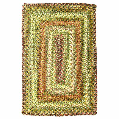 Ultra-Durable Rainforest Indoor/Outdoor Rug Rug Size: Oval 23 x 39