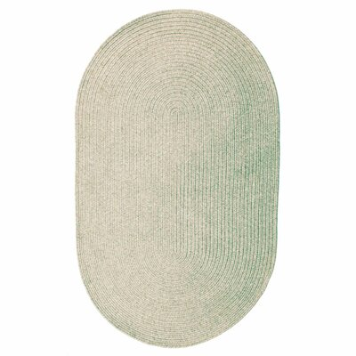 Ultra-Durable Slate Indoor/Outdoor Rug Rug Size: Oval 1'8 x 2'6