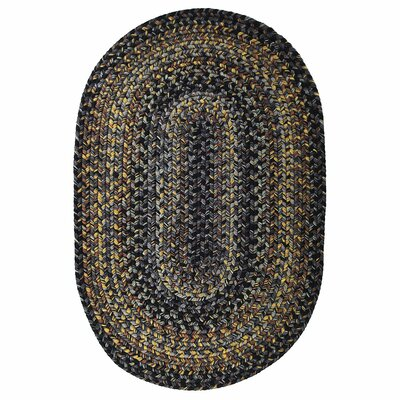 Ultra-Durable Blackforest Indoor/Outdoor Rug Rug Size: Oval 23 x 39