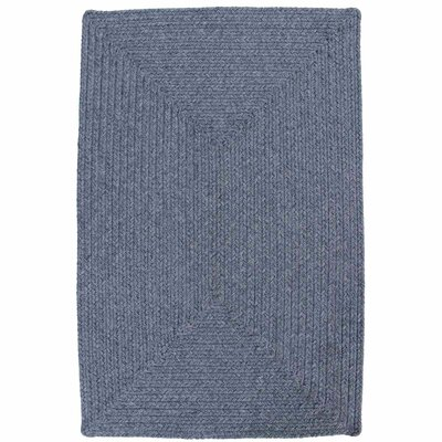 Azure Heather Blue Indoor/Outdoor Rug Rug Size: Oval 6 x 9