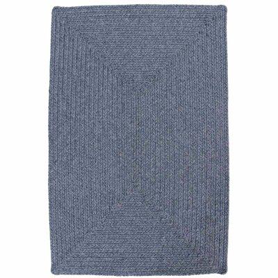 Azure Heather Blue Indoor/Outdoor Rug Rug Size: 3 x 5