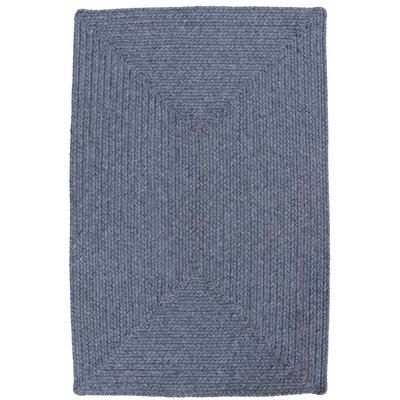 Azure Heather Blue Indoor/Outdoor Rug Rug Size: 23 x 39