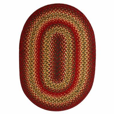 Clarktown Barn Rug Rug Size: Oval 8 x 10