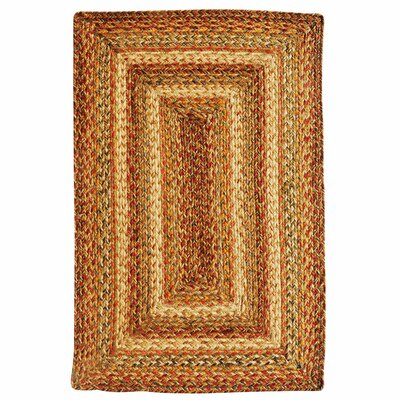 Harvest Brown Area Rug Rug Size: Rectangle 8 x 10