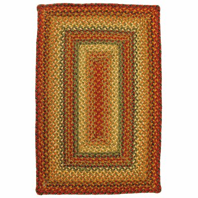 Graceland Peach Area Rug Rug Size: Oval 4 x 6